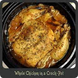 recipe whole chicken in a crock pot di cucina
