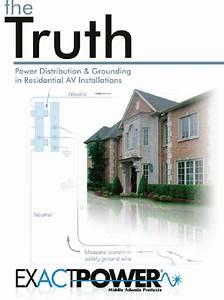 Free Books For Engineers  Power Distribution  U0026 Grounding In Residential Av Installations