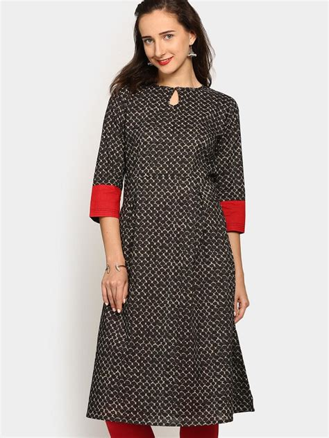 Boat Neck Kurti Tops by Different Types Of Necklines To Try In Your Kurtis
