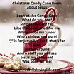 Christmas Candy Cane Poem   Christmas candy cane, Candy ...