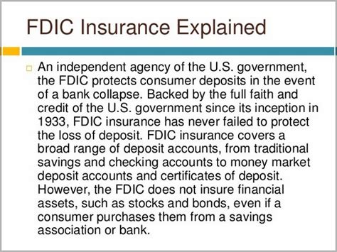 They come with the potential to earn higher interest rates, but may also let you write yes, money market accounts are insured by the fdic (federal deposit insurance corporation) up to the legal limit of $250,000. Are Money Market Deposit Accounts Fdic Insured