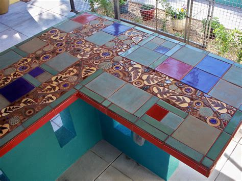 mosaic countertop mosaic ourdoor bar countertop mosaic tile countertops