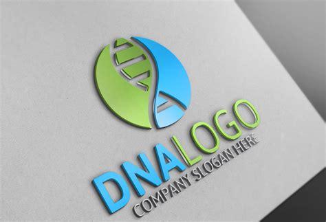 dna logo logo templates creative market