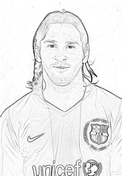 Dasilva Kleurplaat by Desenhos Do Messi Para Colorir