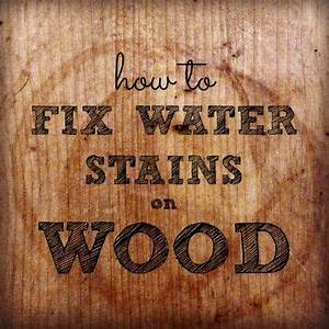 How to repair water stains on wood housewife how to39sr for How to repair water stains on hardwood floors