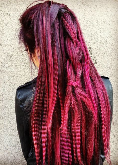 Color Hairstyles For Hair by 20 Trend Setting Crimped Hairstyles