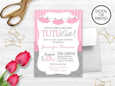 tutu baby shower invitations templates tutu invitations for baby shower tutu invitations for baby shower for baby shower invitation