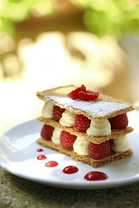 millefeuille framboise et vanille r 233 gal