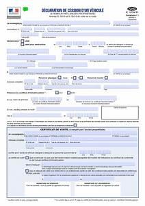 Document Cession Vehicule : le certificat de cession obligatoire pour les voitures d occasion certificat de vente ~ Gottalentnigeria.com Avis de Voitures