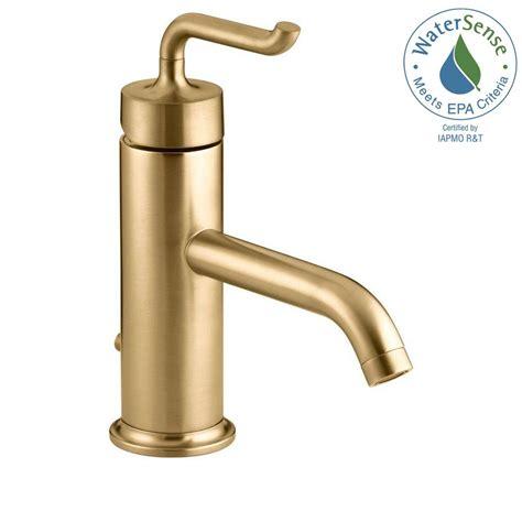 Kohler Modern Bathroom Faucets by Kohler Purist Single Single Handle Low Arc Bathroom