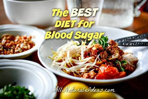 diet   blood sugar levels  natural ideas