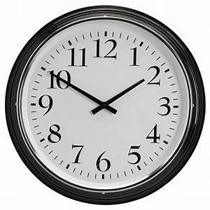 Grosse Pendule Murale : cheap ikea bravur horloge murale prcision de luheure ~ Teatrodelosmanantiales.com Idées de Décoration