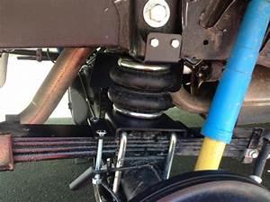 Installed Firestone Ride Rite W   Compressor