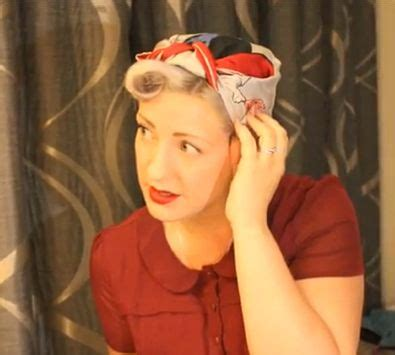1940s Hairstyles With Scarf by 91 Best Images About 40s And 50s Reminiscence On