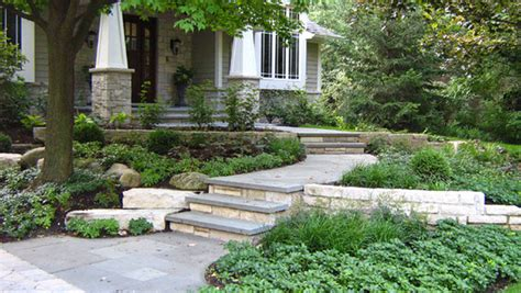 Sloping Front Yard Home Design Ideas, Pictures, Remodel