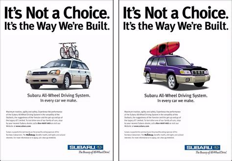 Subaru Car Ads by When Subaru Came Out The Birth Of The Lezbaru Afterellen