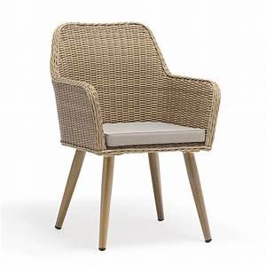 fauteuil de jardin en aluminium et resine tressee cuba alu With tapis champ de fleurs avec housse simili cuir pour canapé