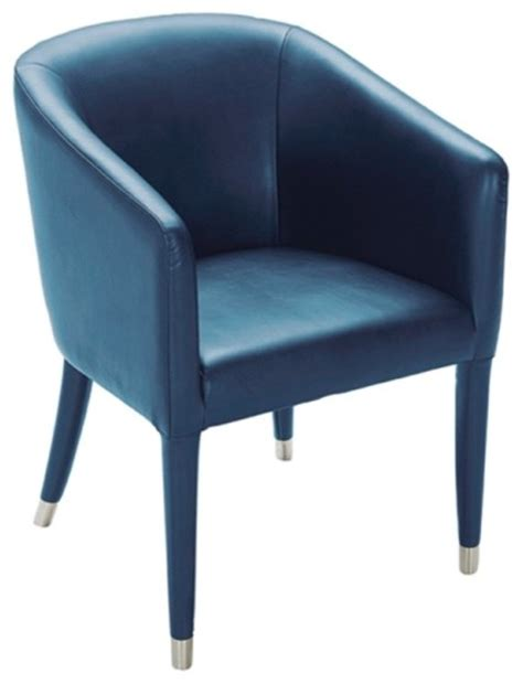 contemporary armchair with leather covered legs turquoise