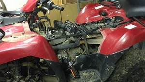 2005 Kawasaki Brute Force 750 - Carb Removal