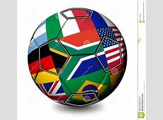 Soccer Ball South Africa 2010 Stock Photo Image 14449324