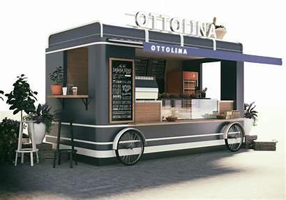 Truck Coffee Cafe Mobile Kiosk Pizza Yami