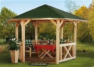 Pavillon 3x3 Holz : pavillons holz pavillon ~ Buech-reservation.com Haus und Dekorationen