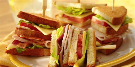 easy club sandwich recipe sargento sliced havarti cheese