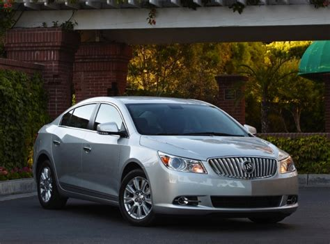 2013 Buick Lacrosse Gets A Change-up