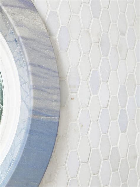 Elongated Hexagon Tile Design Ideas Remodel