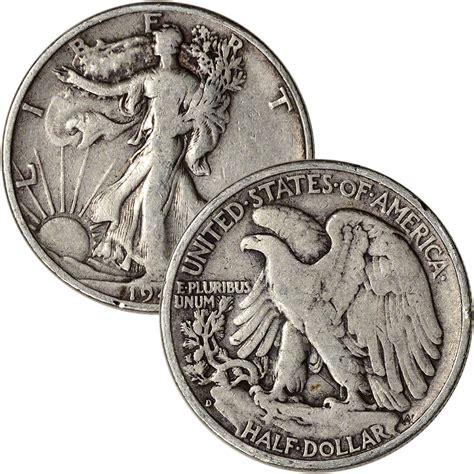 silver half dollar value 90 silver walking liberty half dollars roll of 20 10 face value ebay