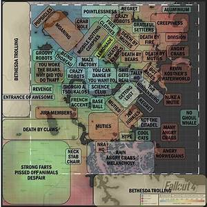 Accurate Map Of Fallout 4