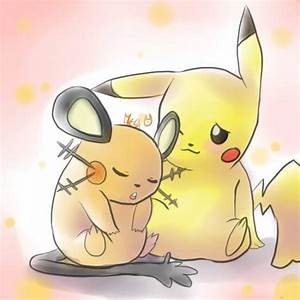 Pikachu And Dedenne Pokemon Images   Pokemon Images