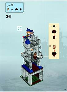 Lego 7037 Tower Raid Instructions  Castle