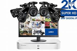 Complete Ip Camera Security System Featuring 8 2k