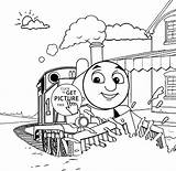 Thomas Coloring Train Pages Printable Friends Sheets Christmas Caboose Engine Tank Children Cartoon Giant Yoohoo 4kids Crayola Signs Percy Iron sketch template