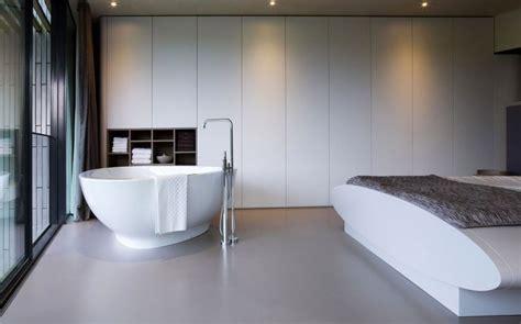 baignoire dans chambre chambre baignoire eco home par un studio