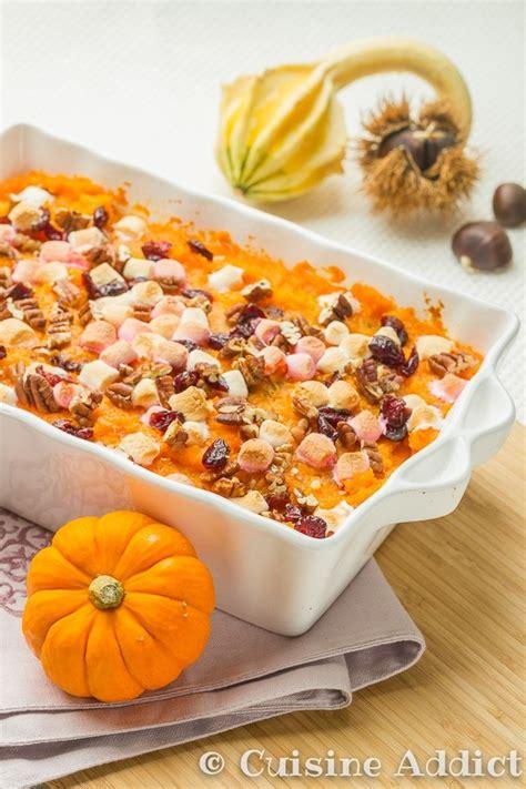 patate douce cuisine gratin de patates douces aux cranberry pour thanksgiving cuisine addict cuisine addict