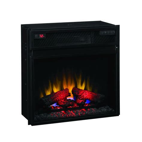 electric fireplace heater insert classic 23 electric fireplace insert with infrared