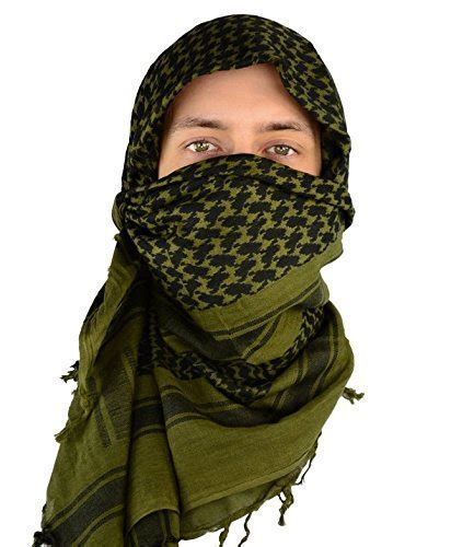 Kingree Military Shemagh Tactical Desert 100% Cotton