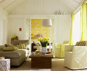Schöner Wohnen Tapeten Wohnzimmer : raumgestaltung mit farben und tapeten raumgestaltung total ~ Markanthonyermac.com Haus und Dekorationen