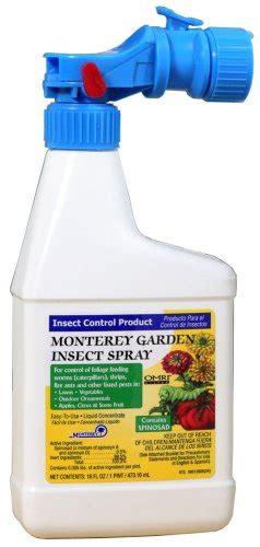 monterey garden insect spray monterey spinosad organic garden insect spray pint hose