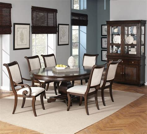 round formal dining table set harris formal dining room set with round to oval table