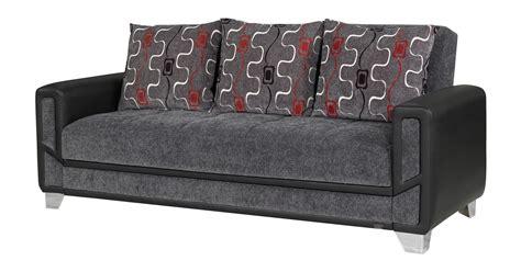 Convertible Sofa Modern by Mondo Modern Grey Convertible Sofa Bed By Casamode