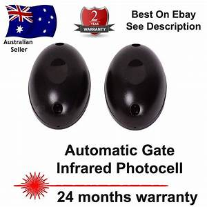 Safety Beam Infrared Photocell Gate  U0026 Door Sensor New  Infra Red Photo Cell