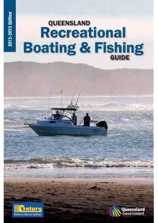 Speed Boat Licence Qld by Qld Recreational Boating Fishing Guide By Andrew Coates