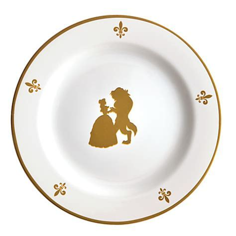 Be Our Guest Dessert Plates   Mickey Fix