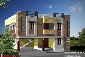 Home Design: Indian House Design Double Floor House ...