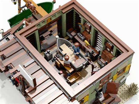 Boat Mechanic Shop lego ideas boat repair shop i brick city