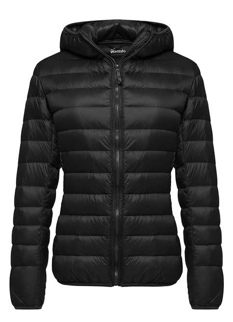 light down jacket women wantdo women 39 s hooded packable ultra light weight short
