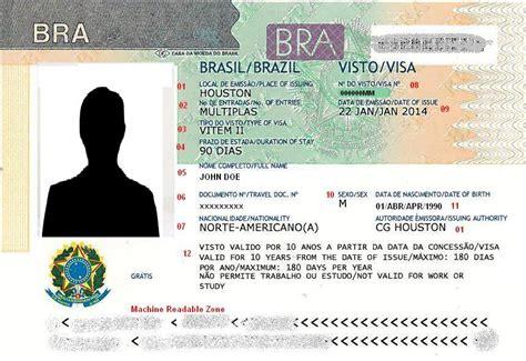 Brazil Visa For Us Citizens